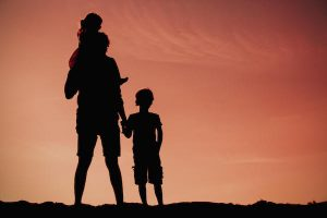 step parent enjoying legal rights with step children